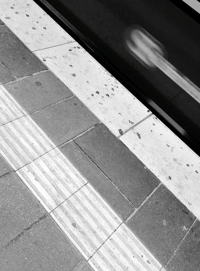 Day 320 - S-Bahn platform Berlin Blackandwhite Public Transportation Sbahn Speed 365project 365florianmski Day320