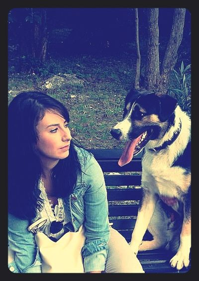 Looking at you is like seeing something that no words can describe. Me&mydog Myguardianangel Love ♥