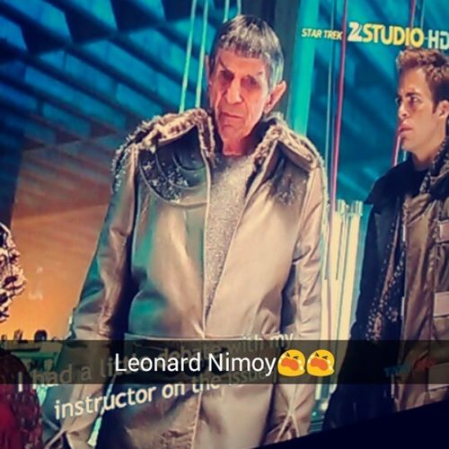 Miss you Leonard Nimoy 😭 RIPMRSPOCK