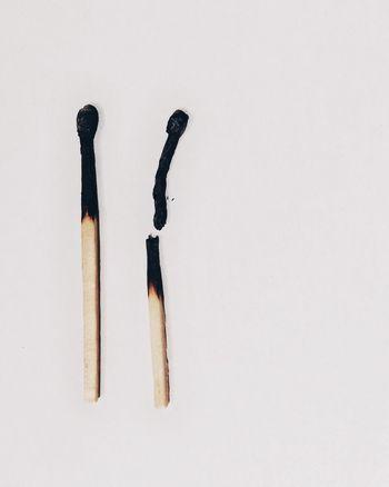 Burnt Out Burn Matches Broken Minimalism IPS2016White