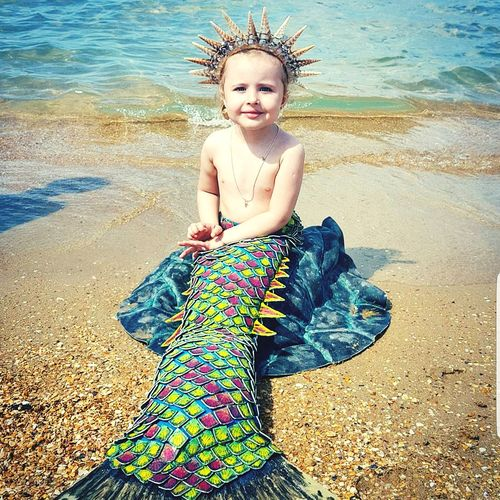 My endless love ❤ Endless Love Mermaid Siren My Daughter My Princess Black Sea Beautiful Child Beautiful Baby Baby Girl