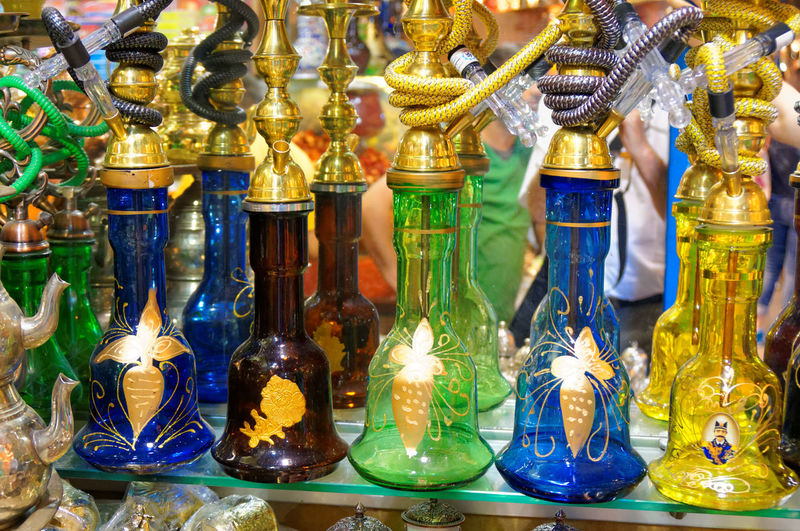 Bazar Choice Close-up Collection Day For Sale Hanging In A Row Indoors  Large Group Of Objects Market Market Stall No People Perfume Retail  Store Variation