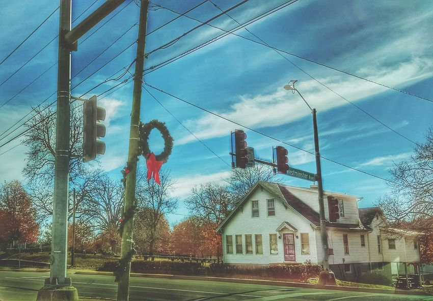 Tis The Season Westminster No People Cloud - Sky Architecture Built Structure Outdoors Day Street Photography Building Exterior Small Town Stories Electrick TreePorn Eye Am Nature Fulton, Missouri Show-me State Of Mind