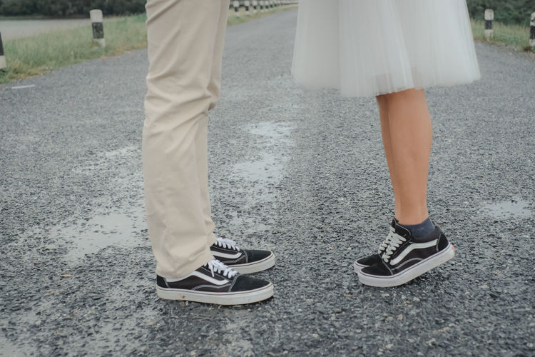 wedding Low Section Human Leg Shoe Human Body Part Day Women Togetherness Lifestyles Two People Road Adult Outdoors Men Human Foot Street Real People Positive Emotion Human Limb Love Wedding Wedding Photography