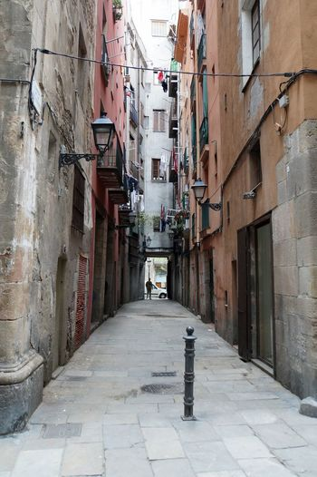 Alley Architecture Architecture Barcelona Barcelona, Spain Building Exterior Built Structure City City City Life Cityscape El Born Outdoors Street Street Photography Street View Streetphotography The Way Forward