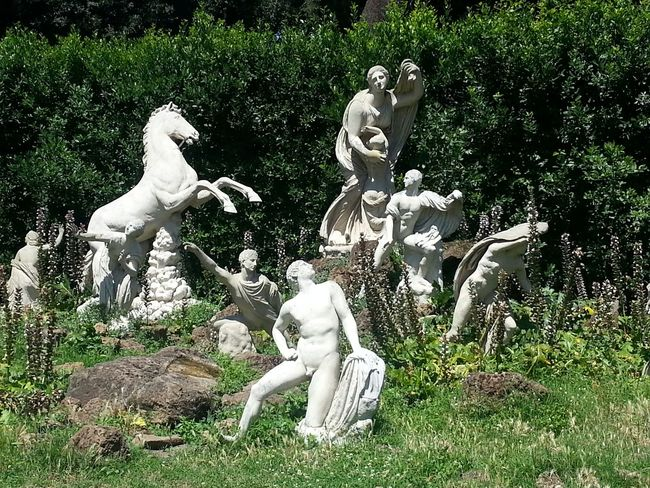 I Love My City Rome Villa Medici Secret Garden