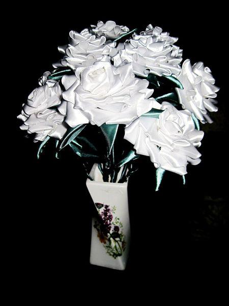 подароксвоимируками Handmade WhiteRoses Flowers