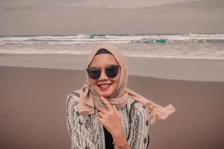 Photograph of the hijab model