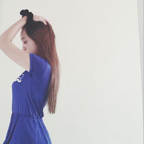 Blur Girl Blue Mood Moody Who Else Understand My Feeling