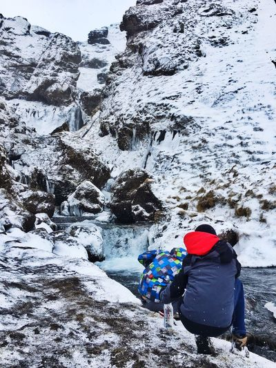 Kids Icecold Water Iceland116