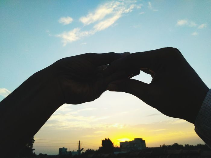 Human Hand City
