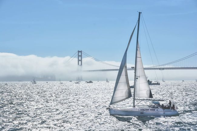 Come sail away ☀️⛵️💨 Imonaboat San Francisco Sausalito GoldenGateBridge Fleet Week Check This Out Enjoying Life Soloadventures