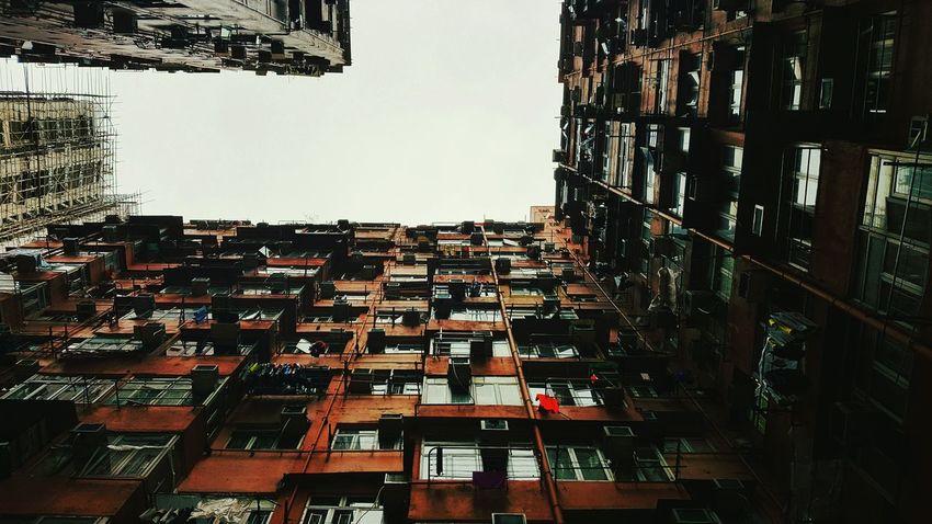 Fallen Drone: paikura HONG KONG Building Exterior Architecture Built Structure Outdoors Apartment City AMPt_community Eye4photography  Hong Kong The Architect - 2017 EyeEm Awards