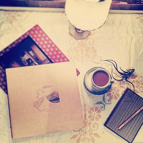 Morning! ☕ 🎵 👍 WakingUp Recordsandcoffee Earlyinspiration Jonimitchell emmylouharris