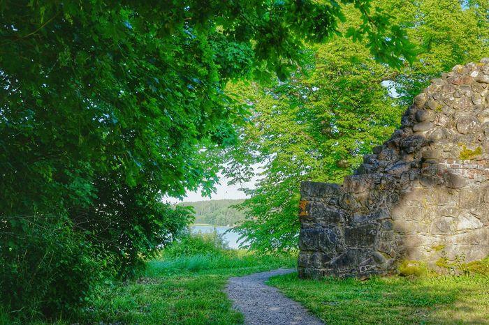 Ruins Of A Castle Medieval Castle Kaarina Kuusisto