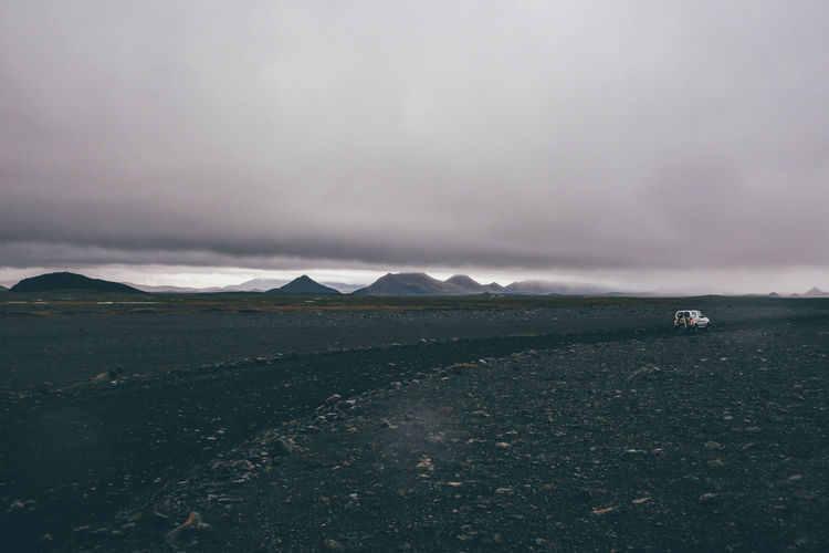 4x4 Atmospheric Mood Black Car Clouds Iceland Landscape Monochrome Mountains Nature Nature Photography Offroad Outdoors Outside Road Tranquil Scene VSCO Atmosphere
