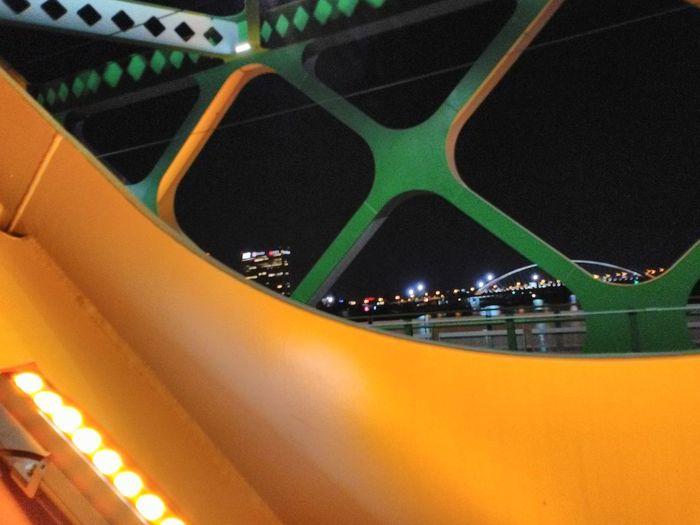 Colorful Bridge Surrounding Cool Pic Bratislava City!