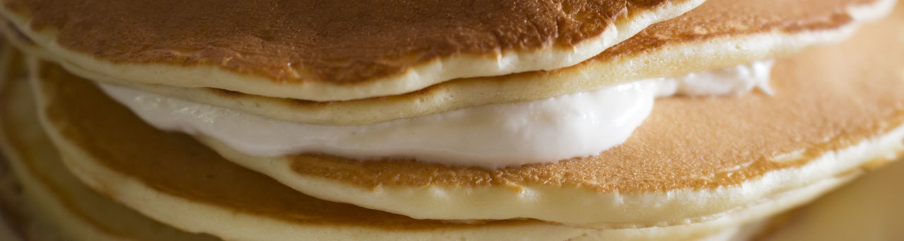 Detail Shot Of Pancakes