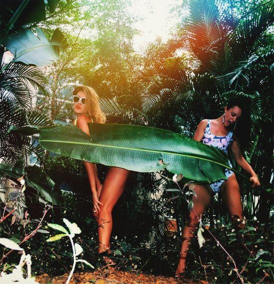 Amazon girls 😅 Sanya Bay looklikeidiots Looklikeidiots Best Friends Jungle Girls Holiday