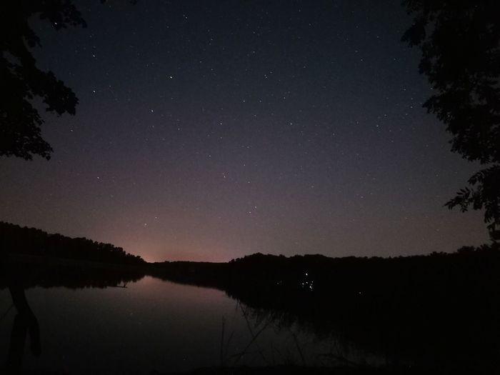 Night sky at