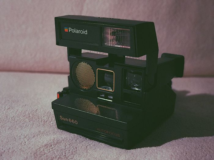 Polaroid No People Indoors  Close-up Technology Day