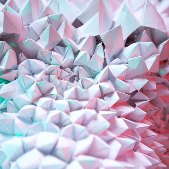 net, network, work, communication, connection, dynamism, abstract, background, abstract background, mobile, contrast, close-up, lines, curves, red, pink, green, light green, complementary, contrasting, triangle, paper, minimalism, pyramid, pyramids Abstract Backgrounds Abstract Minimalism Triangle Shape Triangle Pyramid Shape Pyramid Fashion Blue Turquoise Pink Pink Color Green Green Color Design High Angle View Craft Close-up Still Life Indoors  No People Backgrounds Multi Colored Pattern Full Frame Large Group Of Objects Paper Creativity Art And Craft Indoors  Abundance Choice Repetition Shape Variation