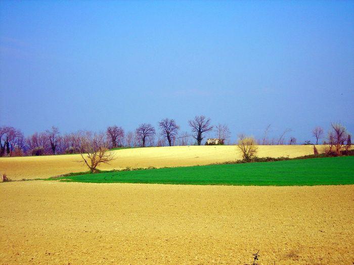 Italy Blue Sky