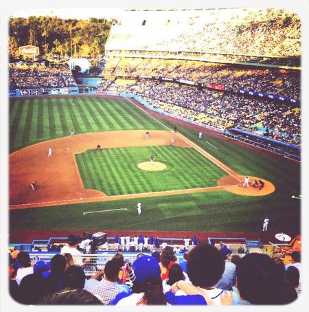 Dodger Stadium Baseball La ♡♡♡ Enjoying Life