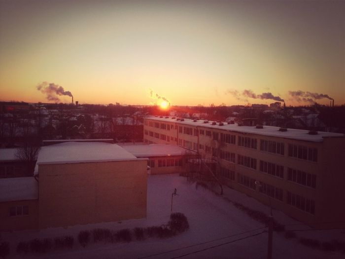 Вот об этом я и говорил :3 #sunrise #city