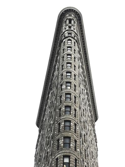 New York, New York Low Angle View Clear Sky Architecture Built Structure No People Tower Building Exterior Outdoors Sky Day flatiron newyork manhatten nyc