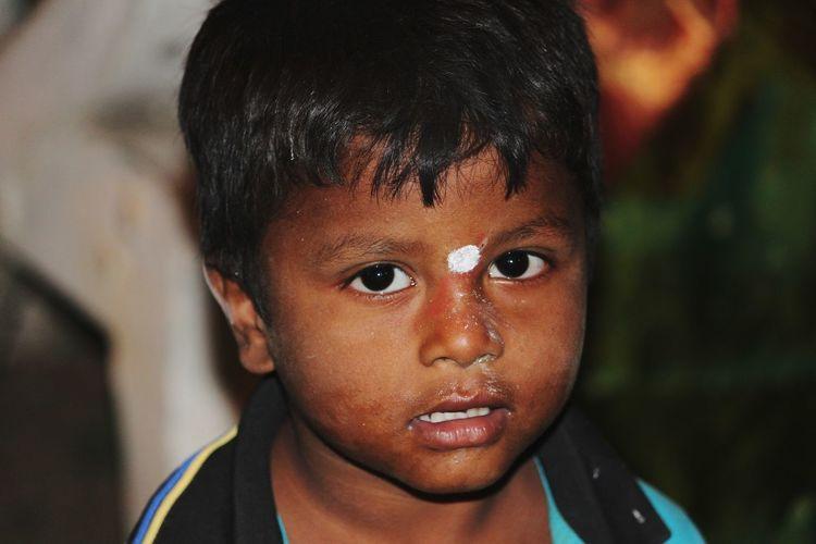 Child Human Eye