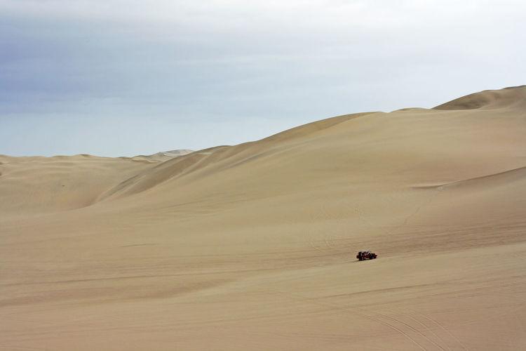 dune 4x4 Car Desert Landscape Nature Off-road Vehicle Outdoors Sand Sand Dune Travel