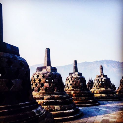 No People Day Outdoors Sculpture Ancient Civilization Architecture Sky Temple Sunrise INDONESIA
