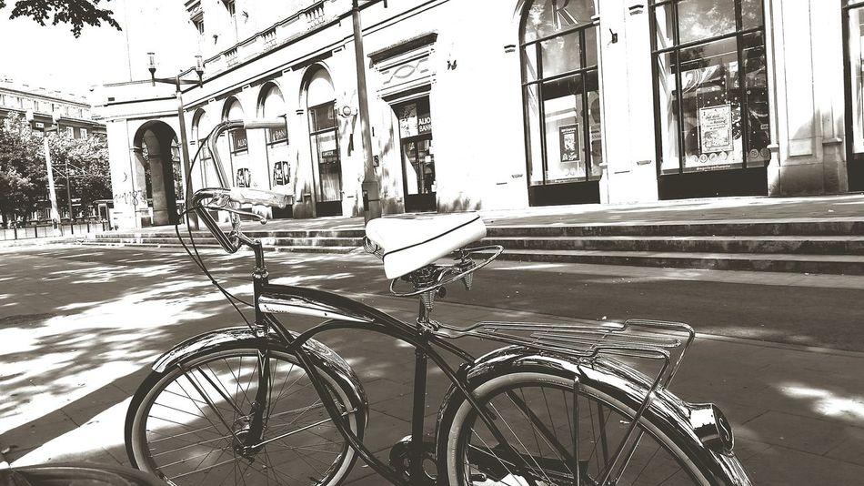 First Eyeem Photo Bike Schwinn Poland Nowahuta American Wonderyears New York