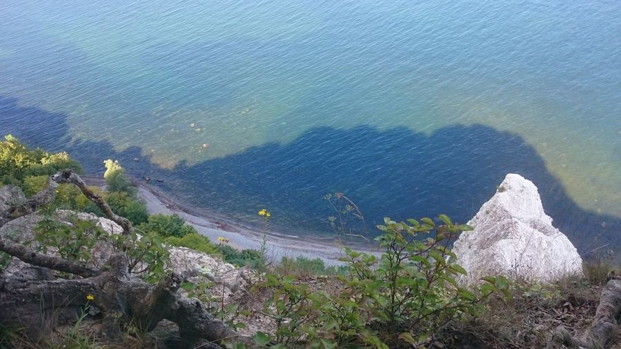 Beauty In Nature Day Germany, Ostsee, Rügen, Deutschland, Viktoriasicht, See, Seak, Nature, Blue, Beatyful High Angle View Mountain Nature No People Outdoors Scenics Sea Sky Tranquil Scene Tranquility Water