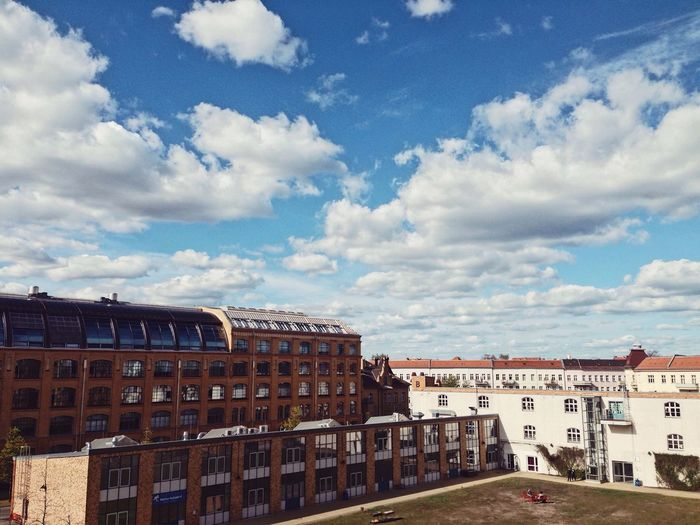 new perspectives Building Exterior Architecture Built Structure Sky Cloud - Sky No People Sunny Day City Berlin