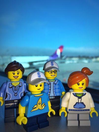 Lego Family Vacation Lego Mini Figures Lego Adventures Lego Art Legostagram Lego Photography Minifigures Minifigs Legominifigs Toyphotography Legophotography Lego Minifigures LEGO Airport Airport Waiting Hawaiian