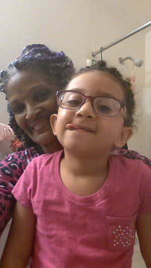 Check This Out I Would Never Complain Ever I Love This Photo ❤ ❤ ❤ ❤ me && My Granddaughter.Love Sweeeet Baby