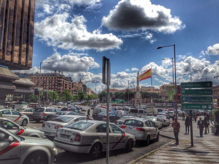 Taking Photos Madrid Spain Walking Around Street Photography