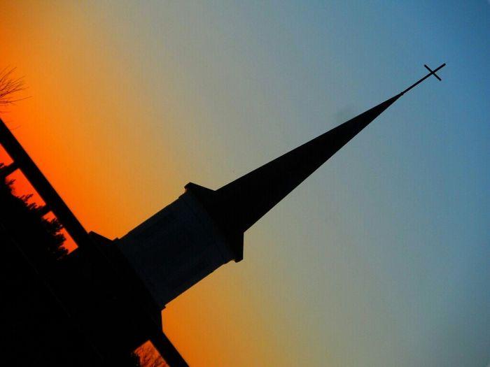 Take me to Church Repost Mystreamzoopics Church Sunset Silhouettes Lyricalmadness