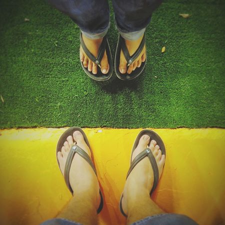 You & Me at Formula One curbside Fromwhereistand Singapore Feet Love