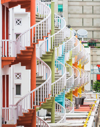 Architectural Detail Architecture Architecture_collection Architecturelovers Architecturephotography Colors Details Singapore Stairs The Architect - 20I6 EyeEm Awards Vibrant Vibrant Colors