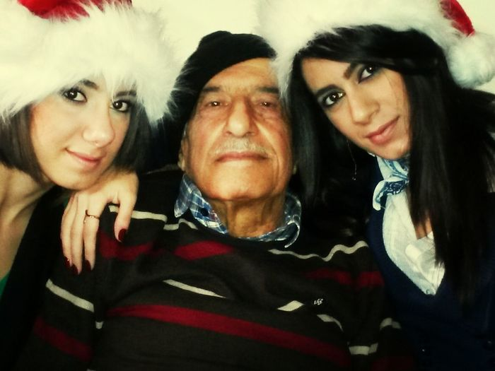 Jeddo With My Sister & I Christmas