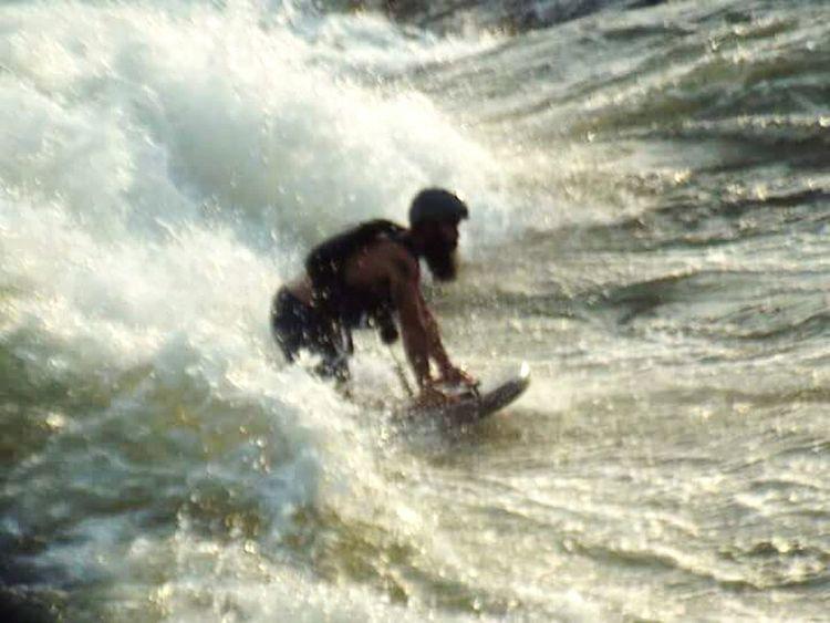 Watersports Paddle Water Rushing Water Columbus, Ga Taking Photos Fun On The Hooch Adrenaline Junkie Exhilarating River Boarding River Board Beardlife Alternative Fitness Get Fit