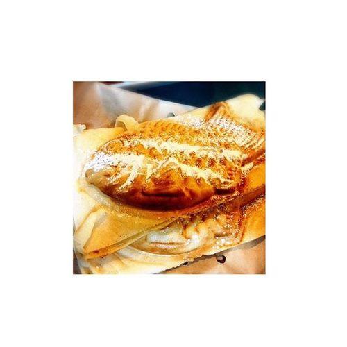 うまかった😋経堂 カスタード たい焼き