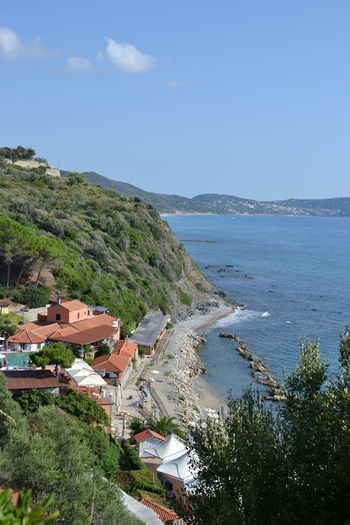 Italy: Cilento landscape Summer No People Views Sun Relaxing Water Italy Coastline Calm Tranquility Rocky Coastline Tranquil Scene Coast