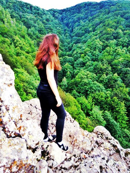 Redhead One Person Green Color Women Day Nature Outdoors Plant Tree Full Length Standing Vacations First Eyeem Photo Happy Moments Summer ☀ Happiness ♡ Summer Memories 🌄 Travel Green Color Travel Destinations Beauty In Nature Mountain Mountains Bułgaria Sofia City Vitosha Mountain Vitosha Mountain Sofia, Bulgaria EyeEm Selects Your Ticket To Europe The Week On EyeEm Mix Yourself A Good Time