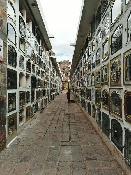 Believe In Life After Death ? Cemetery Architecture One Person Cusco Peru Architecture