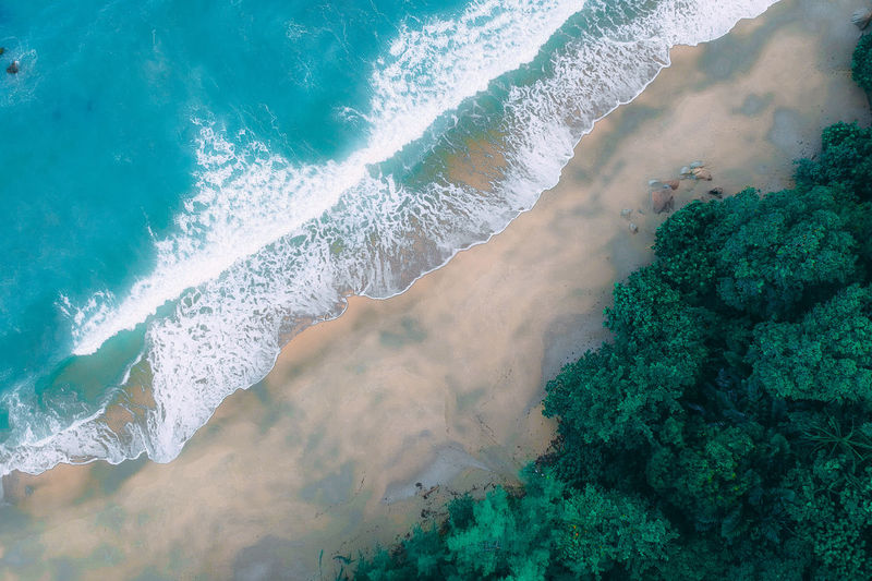 DCIM/100MEDIA/DJI_1275.JPG Beauty In Nature Scenics - Nature No People Water Nature Mountain Sea Day Land Tranquil Scene Motion Tranquility Outdoors Green Color Idyllic Plant Environment Non-urban Scene Power In Nature