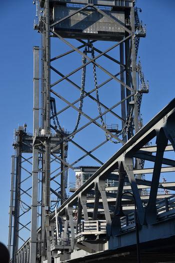 Metal Structure On A Drawbridge